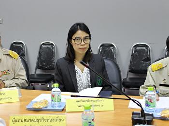 ประชุมคณะอนุกรรมการประชาสัมพันธ์แห่งชาติระดับจังหวัด (จังหวัดสมุทรสงคราม) ครั้งที่ 2/2561