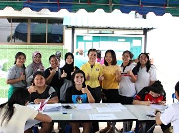 บรรยากาศการรายงานตัวเพื่อเข้าหอพักนักศึกษา วันที่ 1 มร.สส สมุทรสงคราม