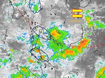 พยากรณ์อากาศประจำวันที่ 3 ตุลาคม 2561