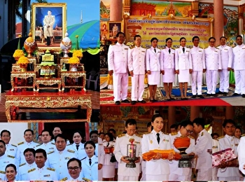 Royal Kathin Robe Was Graciously Bestowed by His Majesty the King to Suan Sunandha Rajabhat University at Wat Chai Sam Moh Phra Aram Luang in Chaiyaphum