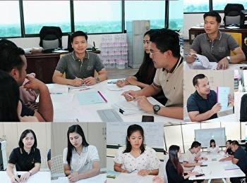 การประชุมอนุกรรมการ ผลักดันการจัดการความรู้ ศูนย์การศึกษาจังหวัดสมุทรสงคราม ประจำปีงบประมาณ พ.ศ.2562