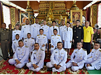 """ศูนย์ฯสมุทรสงคราม """"สวนสุนันทา"""" ร่วมจัดบูธในงานถวายผ้าพระกฐินพระราชทาน ณ วัดเจริญสุขารามวรวิหาร"""