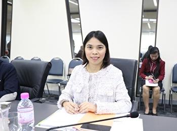 การประชุมคณะกรรมการบริหารมหาวิทยาลัย ครั้งที่ 11/2562