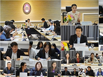 การประชุมบุคลากรศูนย์การศึกษาจังหวัดสมุทรสงคราม มหาวิทยาลัยวิทยาลัยราชภัฏสวนสุนันทา ครั้งที่ 10 /2562 เพื่อรับทราบนโยบายแนวทางการปฏิบัติงาน สู่การพัฒนางานอย่างมีศักยภาพ