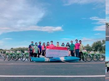 ขอเชิญชวน บุคลากร คณาจารย์ นักศึกษา และประชาชนทั่วไปมา เดิน วิ่ง และปั่นจักรยานบริเวณโดยรอบศูนย์การศึกษาจังหวัดสมุทรสงคราม พร้อมกับการได้ชื่นชมธรรมชาติควบคู่กับการออกกำลังกาย