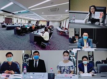 การประชุมคณะกรรมการบริหารมหาวิทยาลัย (ก.บ.ม.) ครั้งที่ 6/2563 ณ ห้องประชุมสภามหาวิทยาลัย