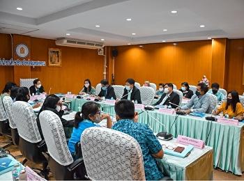 การประชุมกำหนดหลักสูตร/แนวทางการพัฒนาหลักสูตรต่อเนื่องเชื่อมโยงการศึกษา จังหวัดสมุทรสงคราม