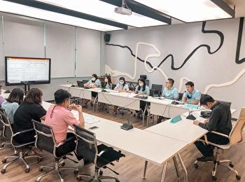การประชุมตัวชี้วัดด้านการจัดหารายได้ประจำปีงบประมาน พ.ศ. 2564 ศูนย์การศึกษาจังหวัดสมุทรสงคราม มหาวิทยาลัยราชภัฏสวนสุนันทา