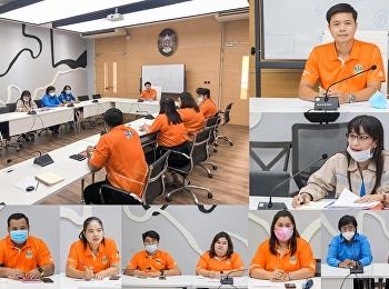 """หัวหน้าสำนักงานฯ """"ราชภัฏสวนสุนันทา"""" ศูนย์ฯสมุทรสงคราม  หารือร่วมกับคณะทำงาน TOT เพื่อรองรับการใช้งานอินเตอร์เน็ต สถานศึกษา เพื่อเพิ่มประสิทธิภาพในระบบการเรียนการสอน"""